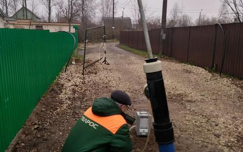 Испытания участка трубопровода системы вакуумной канализации Roediger